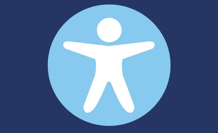 Icône symbolisant l'accessibilité