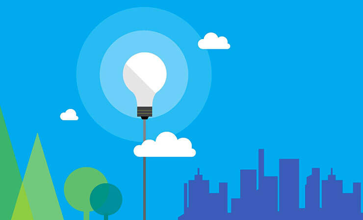 illustration avec ampoule