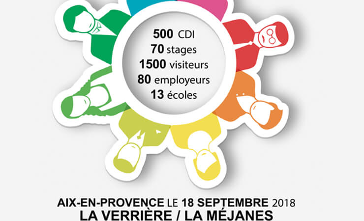 500 CDI, 70 stages, 1500 visiteurs, 80 employeurs, 13 écoles