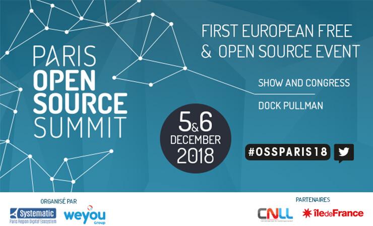 Paris Open Source Summit 5 et 6 décembre 2018