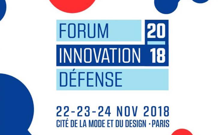 forum innovation 2018 défense 22-23-24 novembre 2018 cité de la mode et du design à paris