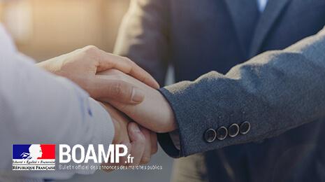 BOAMP : UX/UI design, développement HTML5/JS du site du BOAMP
