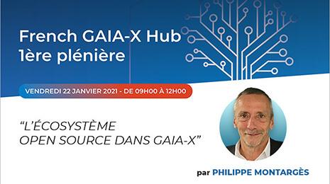 French GAIA-X Hub 1ère plénière - vendredi 22 janvier 2021 de 9h à 12h
