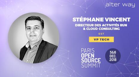 Stéphane Vincent VP tech Paris Open Source Summit