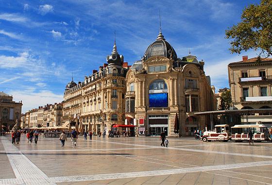 Paysage de Montpellier