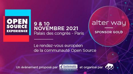 Open Source Experience 9&10 novembre palais des congrès paris le rendez-vous européen de la communauté open source un événement proposé par systematic et organisé par 656