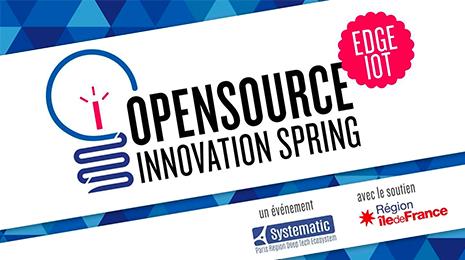 Open source innovation spring, un événement Systematic Paris Region, avec le soutien de Région Ile de France