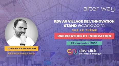 RDV au village de l'innovation stand econocom