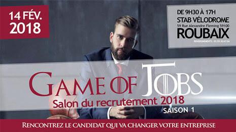 game of jobs salon du recrutement 2018 14 février 2018 roubaix